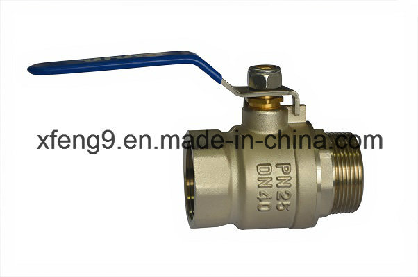 Brass Ball Valve with Steel Handle