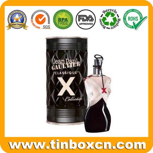Cosmetic Tin Box for Perfume Fragrance Oils