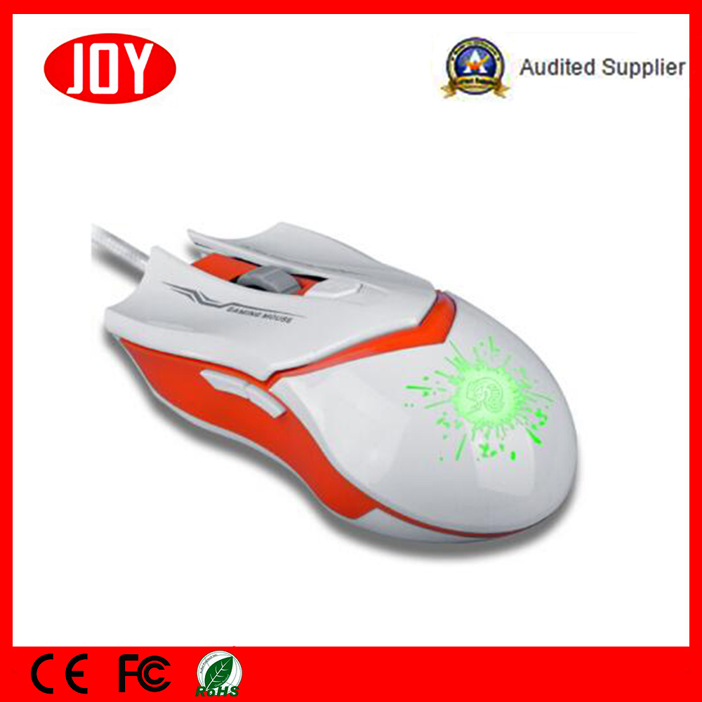 Gaming Mouse 3200dpi 6 Buttons Colorful Breathing LED Optical Wired