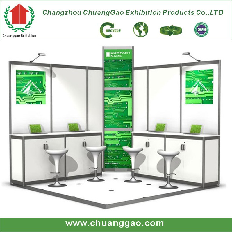 Trade Show Booth Equipment : China exhibition equipment shell scheme booth k