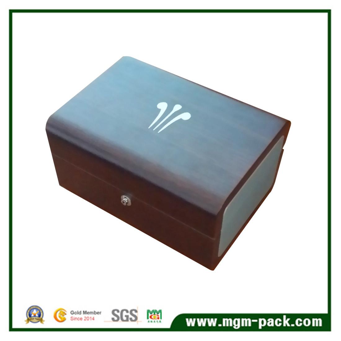 Fancy Matt Single China Wooden Watch Box