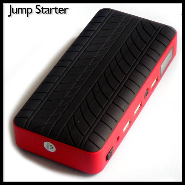 12V Diesel Auto Booster Emergency Car Jump Starter Power Bank