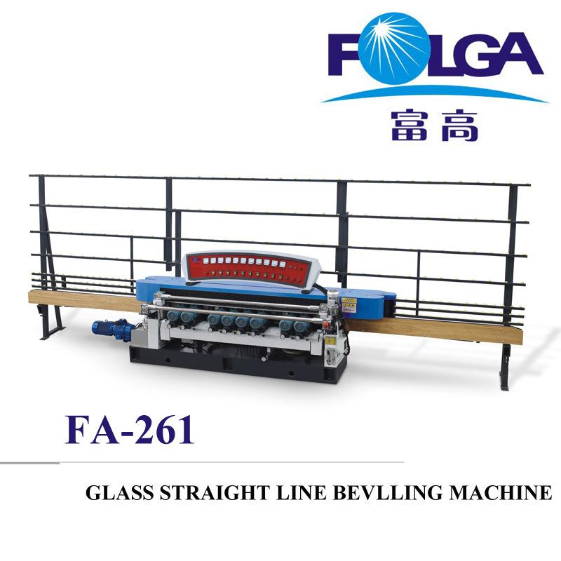 Glass Straight Line Beveling Machine (FA261)