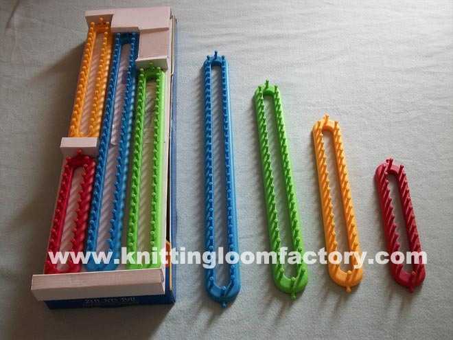 Knitting Loom Set : China knifty knitter long knitting loom set