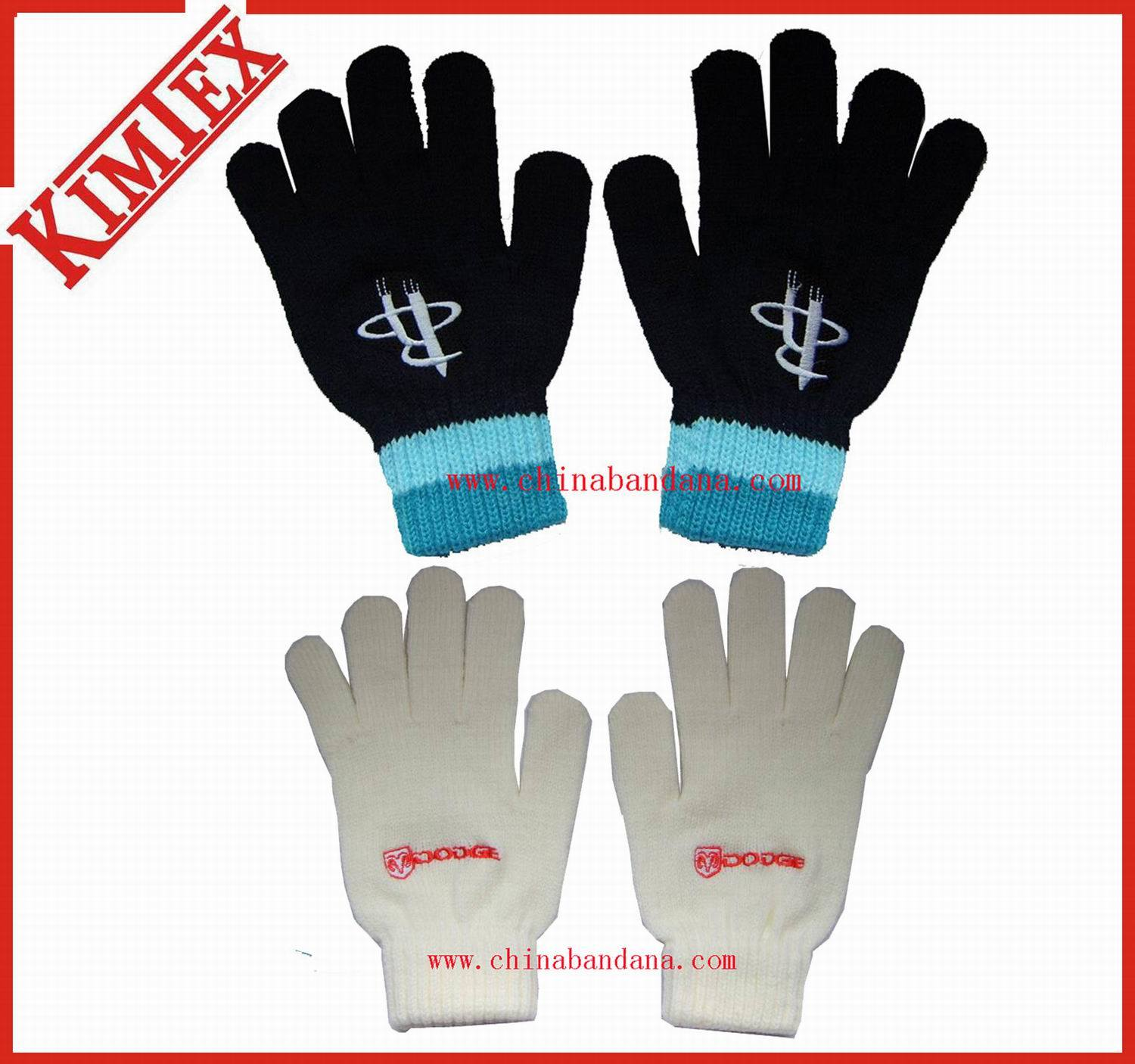100% Acrylic Promotional Magic Knitted Gloves