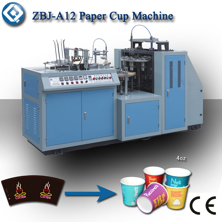 Semi-Auto Paper Cup Making Machine (ZBJ-A12)
