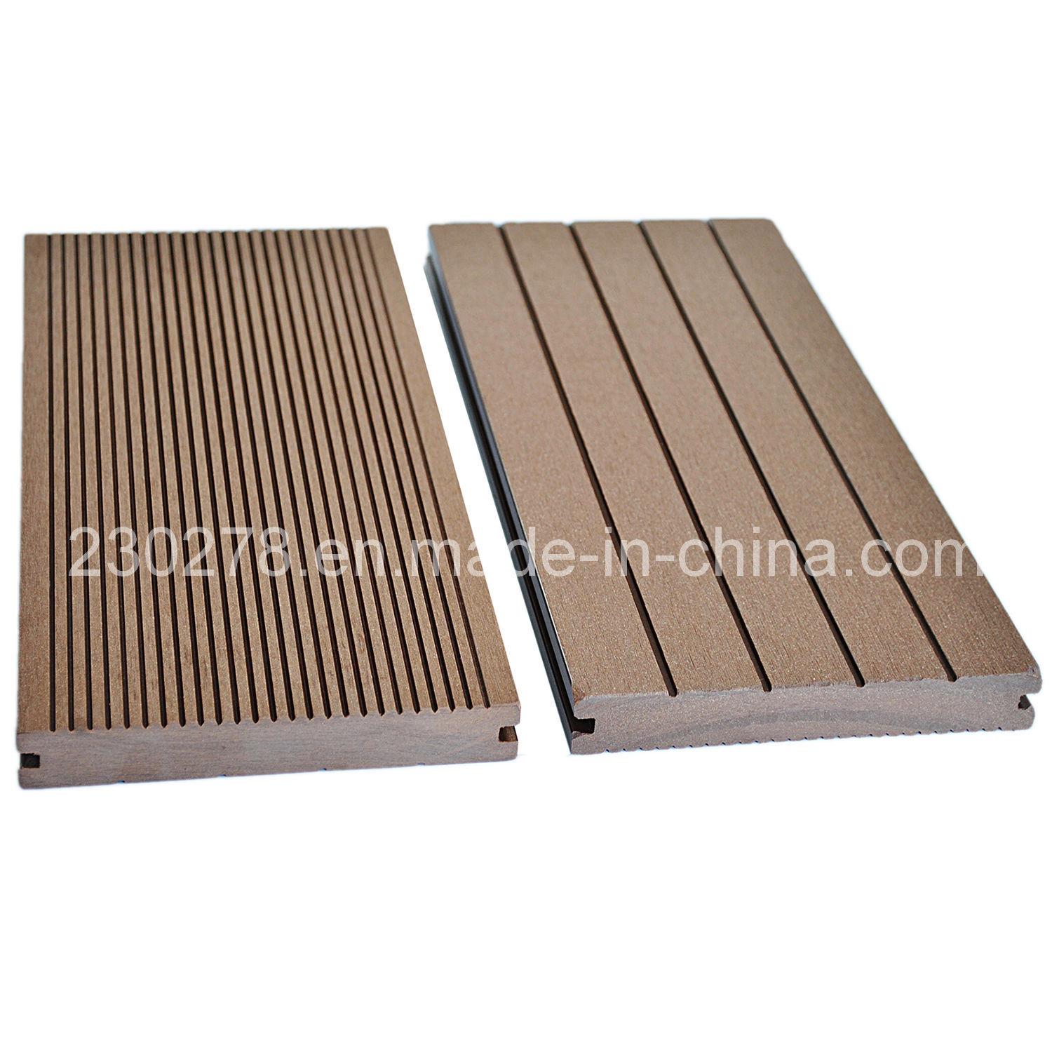 China 140 22 Fsc Commercial Solid Wpc Decking Board