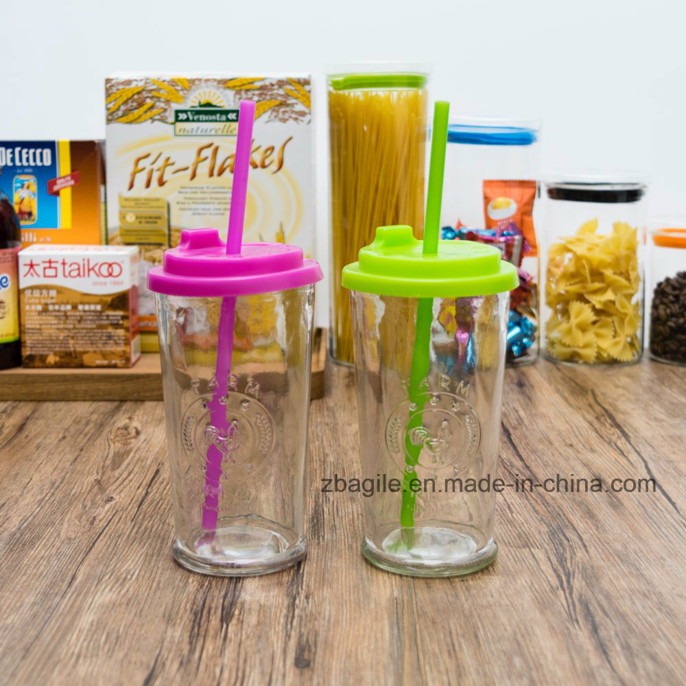 Factory Price Wholesale Colorful Juice Glass Bottle (100001)