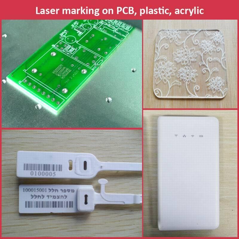 Fiber Laser Marker for Metals, Nameplate, Medals Engraving