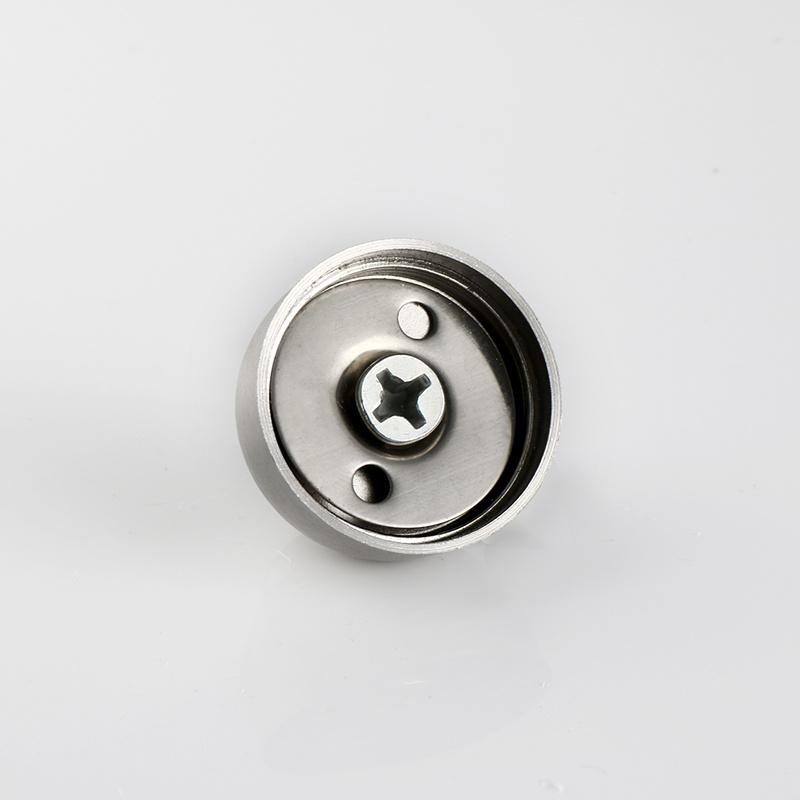 Magnetic Door Stop Door Accessory Hardware in Satin Stainless Steel