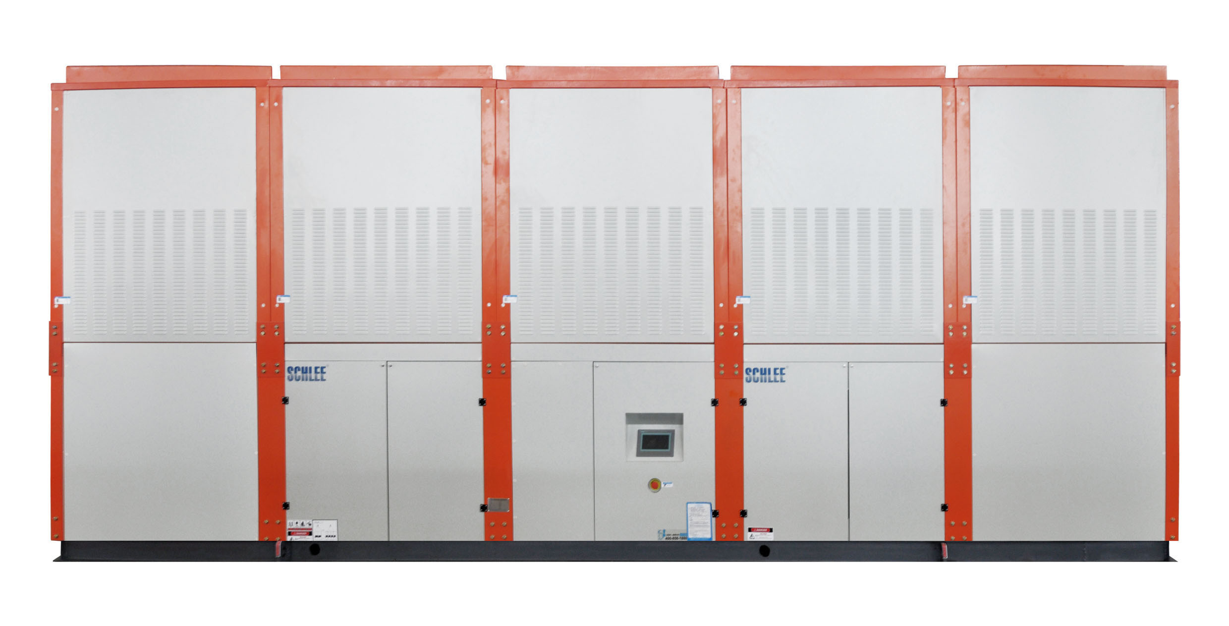 480kw Cooling Capacity Industrial Integrated Evaporative Cooled Water Chiller for Dichloromethane Cooling