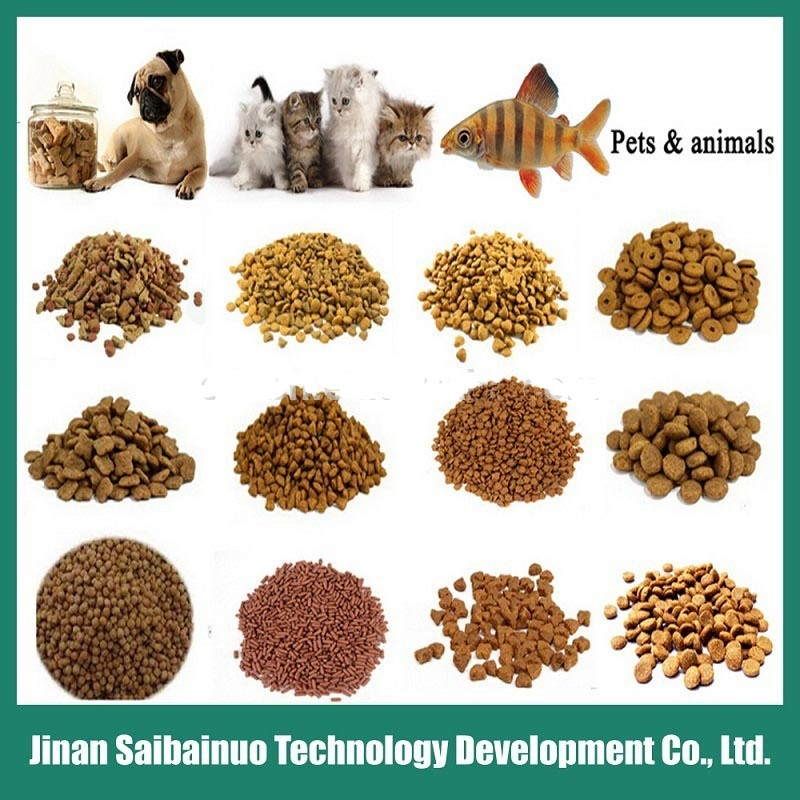 Continuous Automatic Animal Food Machine