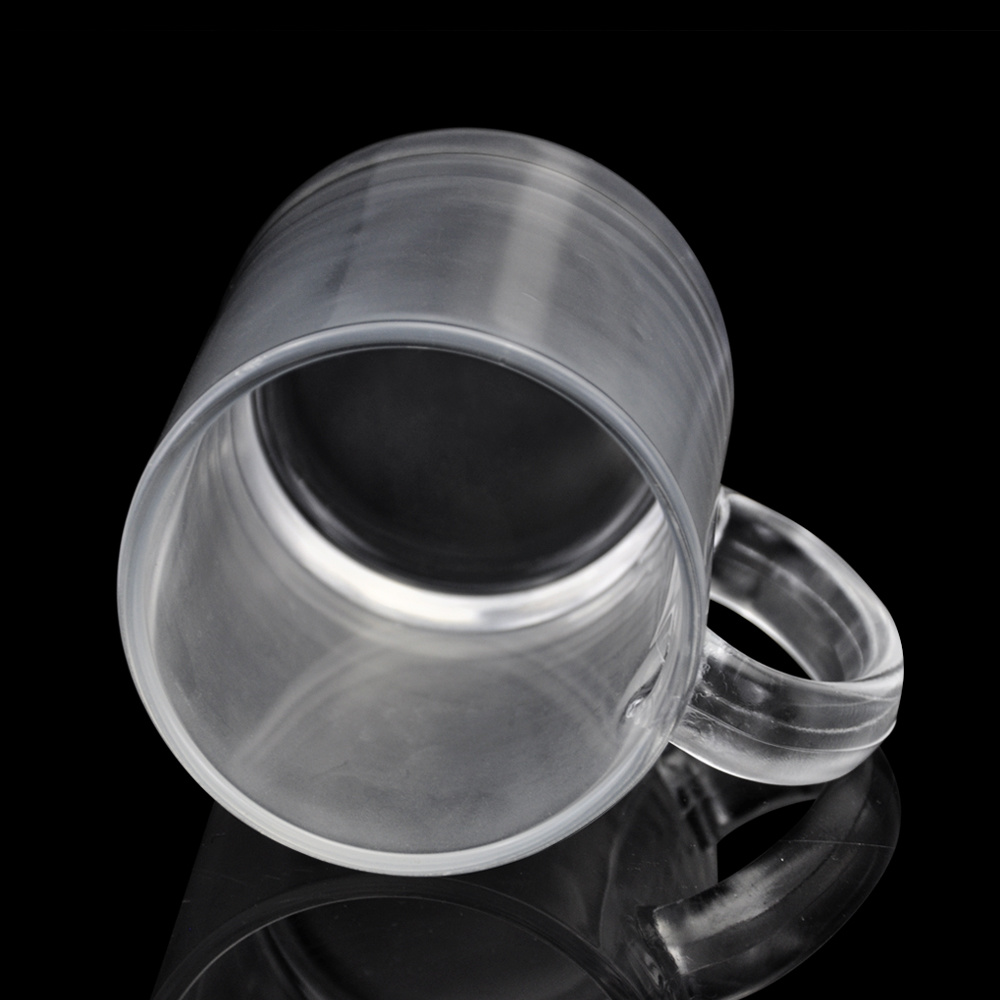 11oz Sublimation Blanks Glass Beer Mugs for Heat Transfer