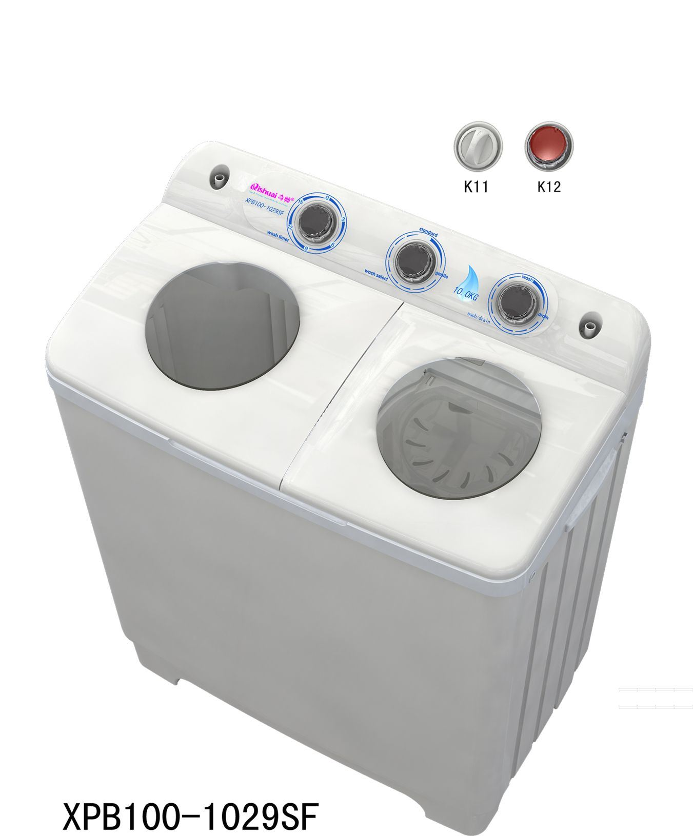 how to clean a standard washing machine
