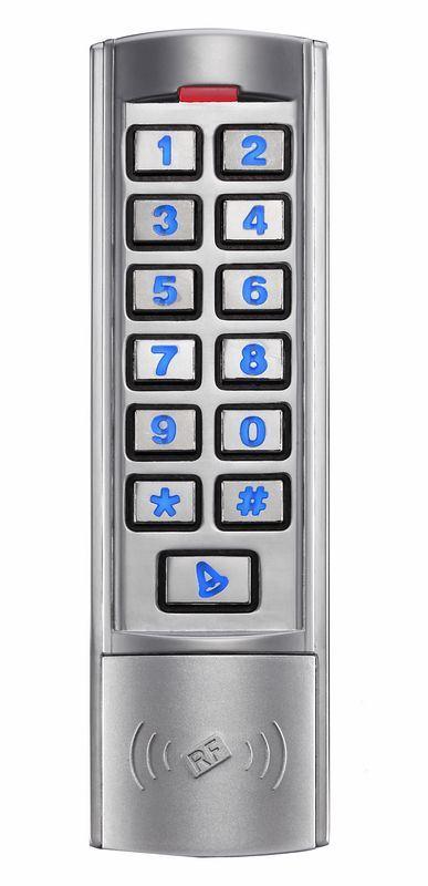 Slim Metal Standalone Access Control Keypad N1em