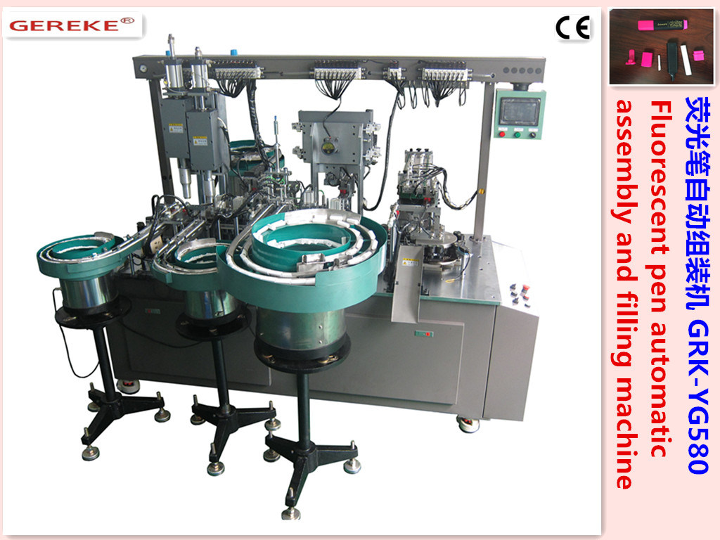 Fluorescent Pen Automatic Assembly and Filling Machine