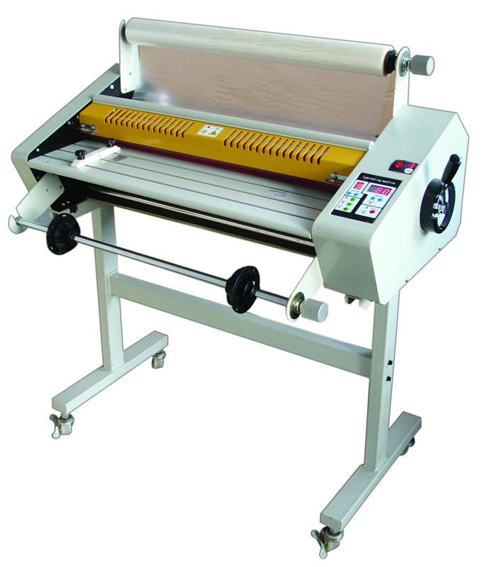 Temperature Adjustable Acrylic Wedding PVC Album Kraft Paper Laminating Machine fm650