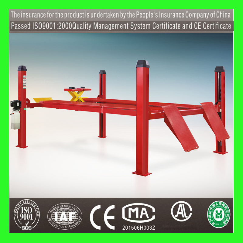 Hydraulic Car Lift/Four Post Car Lift/Two Post Lift/Auto Lift/Post Lift/Vehicle Lift/Lifting Equipment