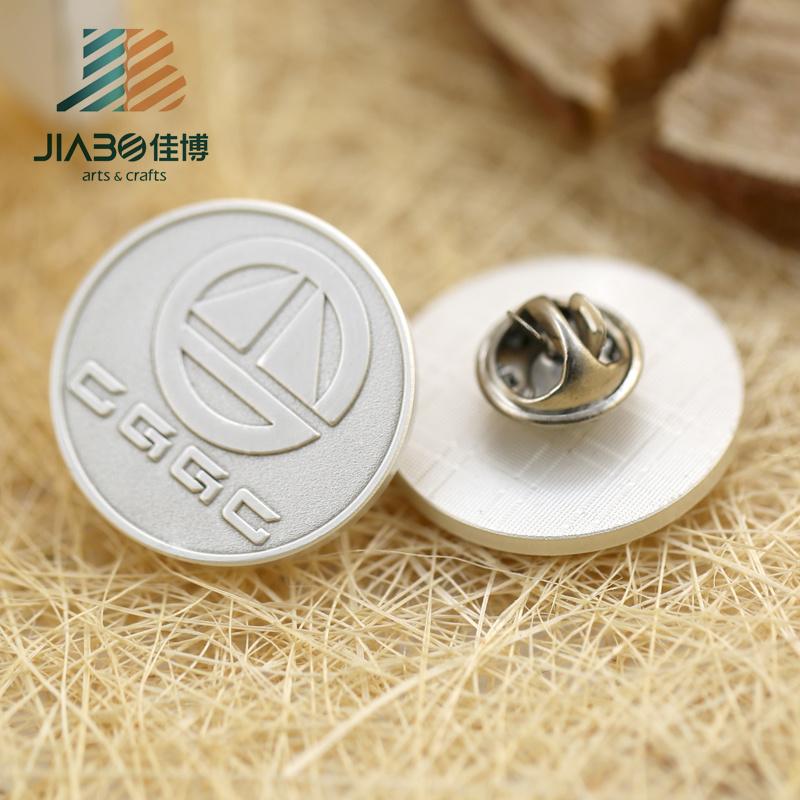 High Quality Promotion Gifts Custom Metal Company Logo Pin Badge