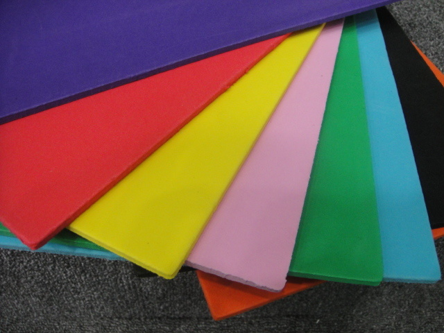 Colorful EVA Foam Sheet with Good Flexibility for Sandal Insoles