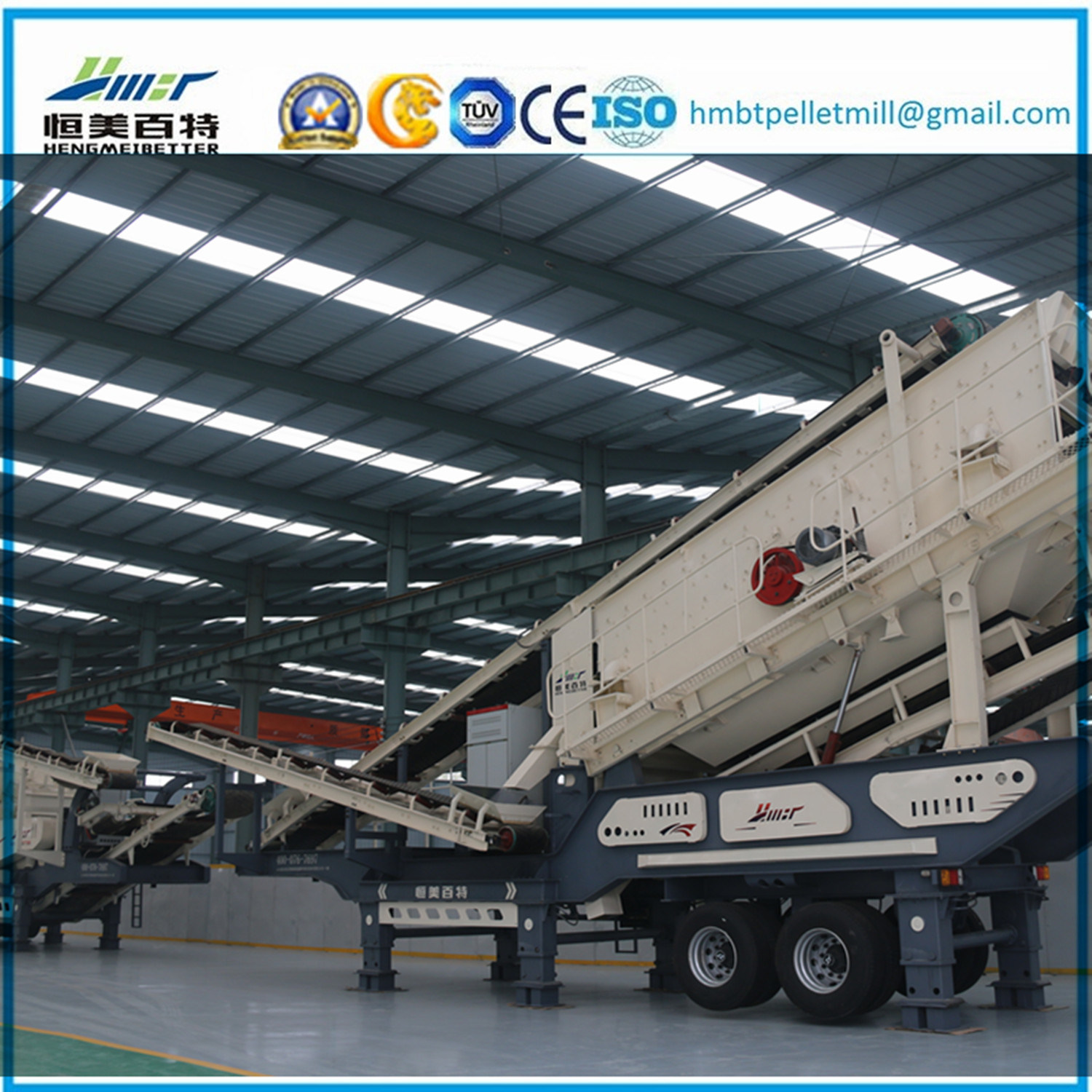 Construction Waste Mobile Impact Crushing Station