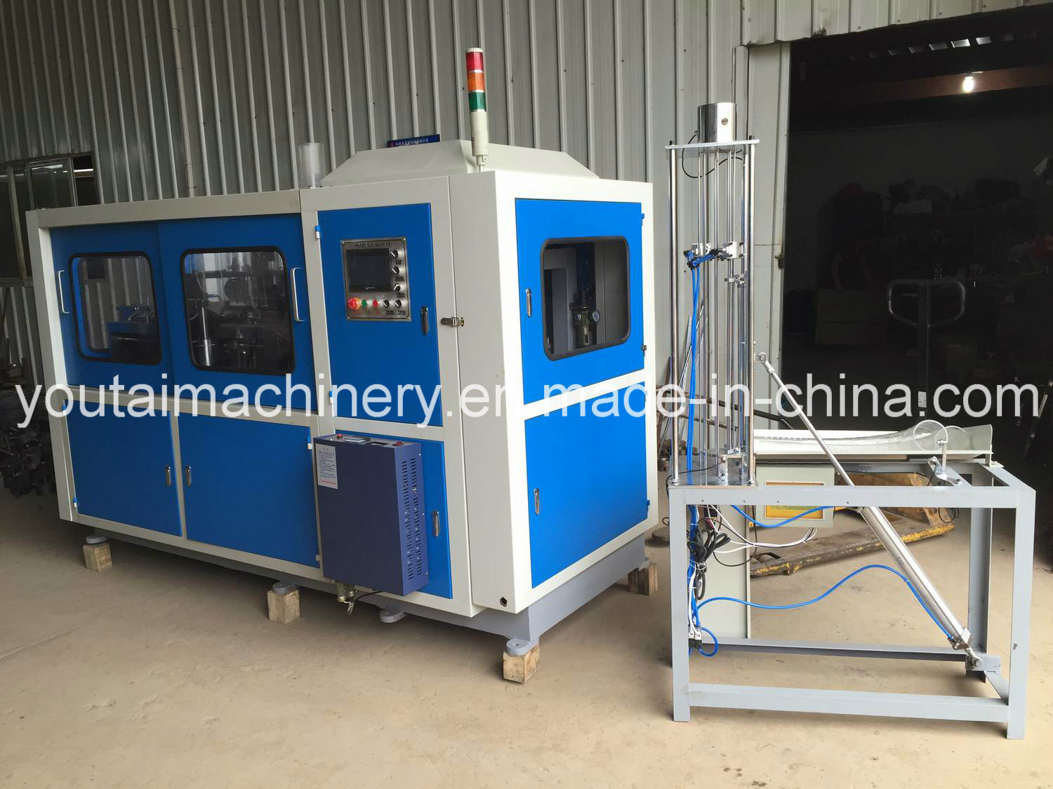 Youtai Fully Automatic Middle Speed Paper Cup Machine with Shooter