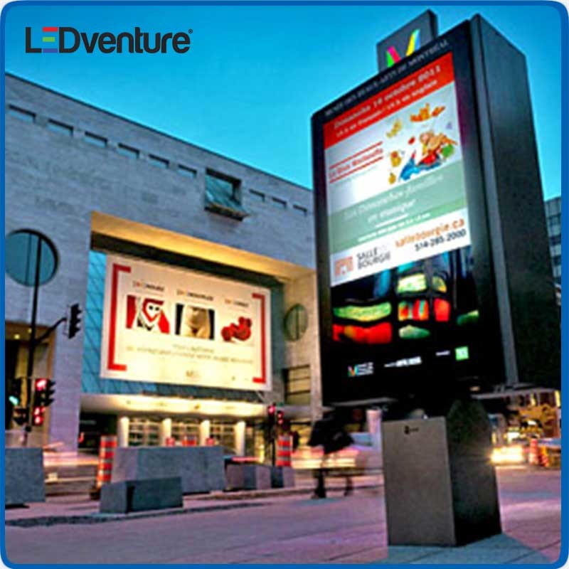 Outdoor Full Color LED Display Billboard for Advertising Media Solution