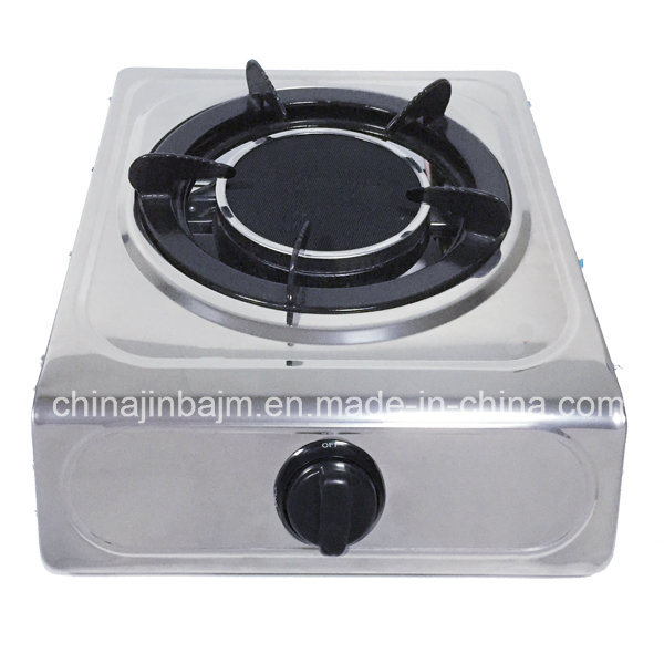 Single Burner 135# Infrared Burner Enemal Trivet Gas Cooker