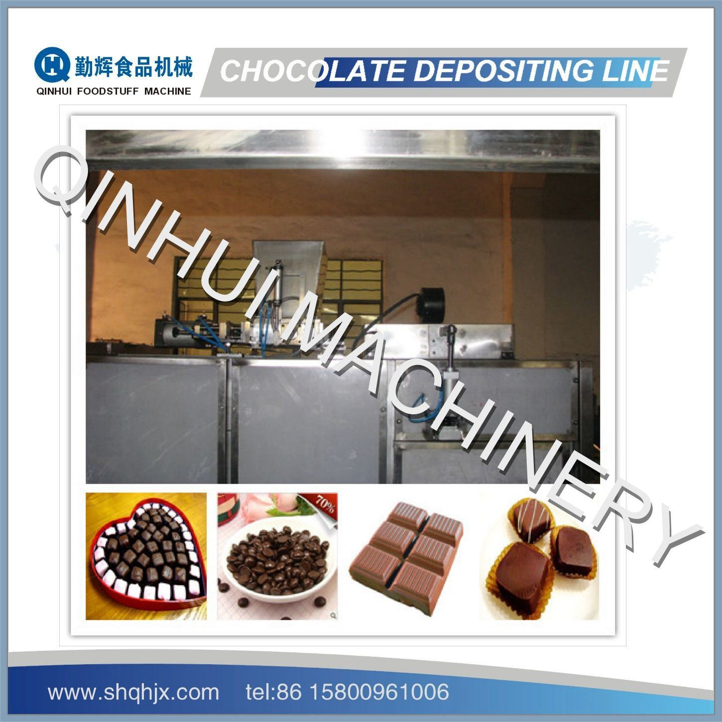 Frequency Control&Full Automatic Chocolate T Machine