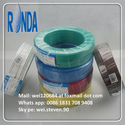 H07V-U PVC Insulated Solid Electrical Copper Wire