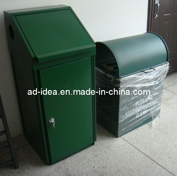 Stainless Steel Waste Bins / Dust Bin / Recycle Trash Bin