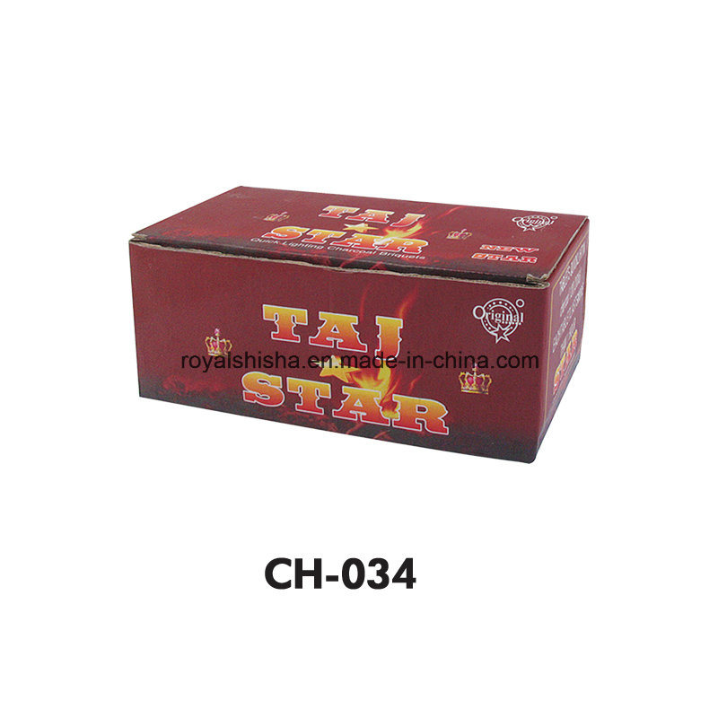 Wholesale Charcoal Factory Hookah Shisha Quick Light Charcoal Three King Charcoal