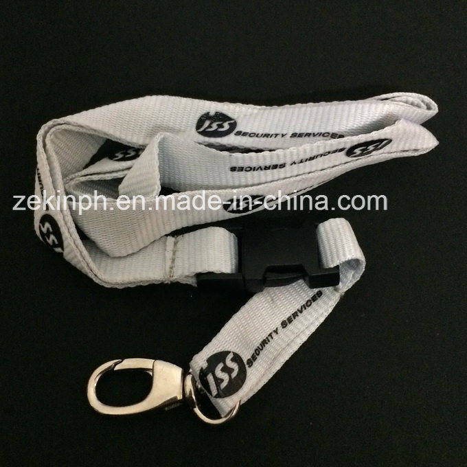 Polyester Lanyard with Custom Logo Printed