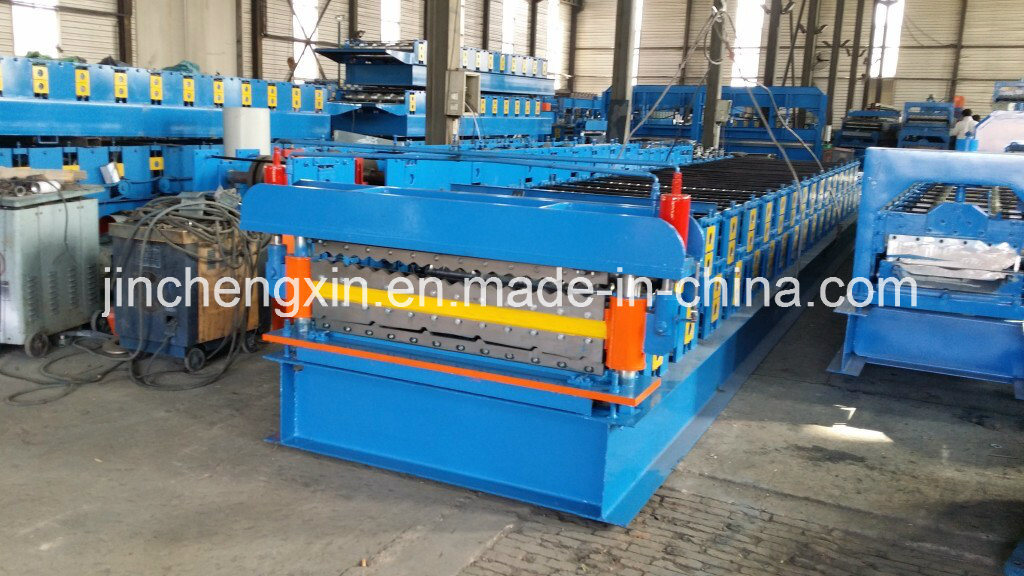 950 /1050 Metal Roof Tile Forming Machines