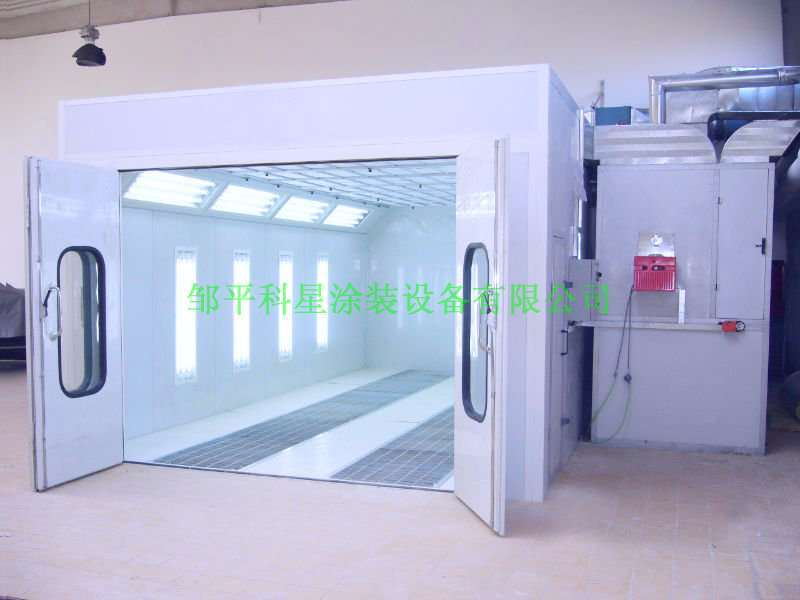 Vehicle Spray Paint Booth