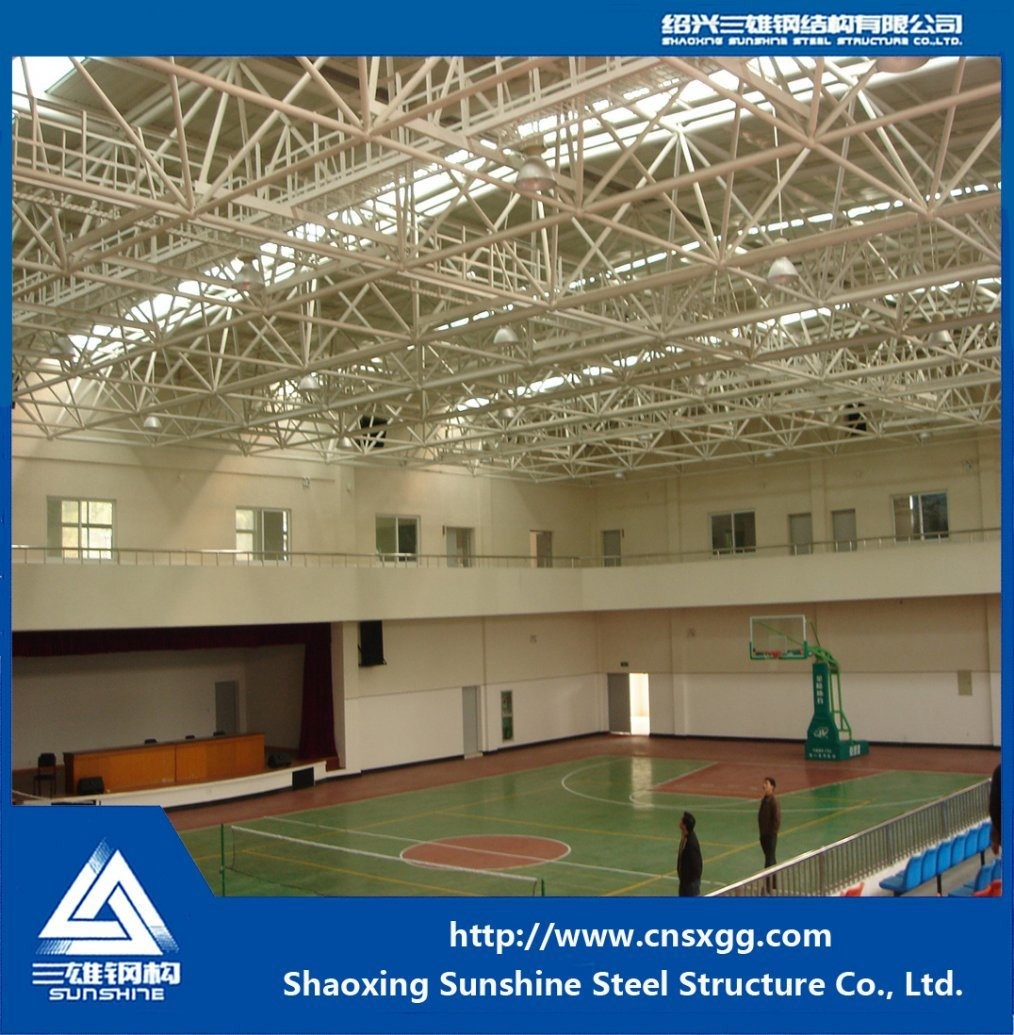 Large Span Steel Structure Spatial Trusses for Hall