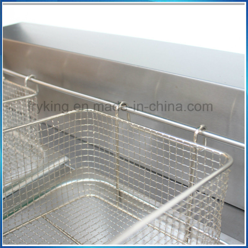 Commercial Gas Fryer for Kitchen Equipment
