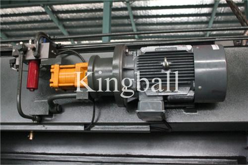 China Kingball Hydraulic CNC Press Brake CE Certification