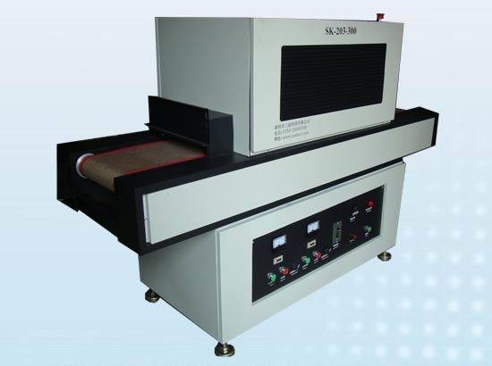 Uv coating equipment uv system uv curing oven sk 203 for Paint curing oven