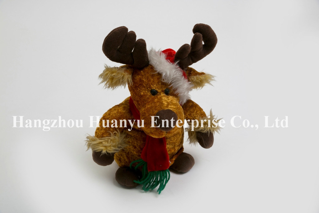 Factory Supply Baby Stuffed Reindeer Toy