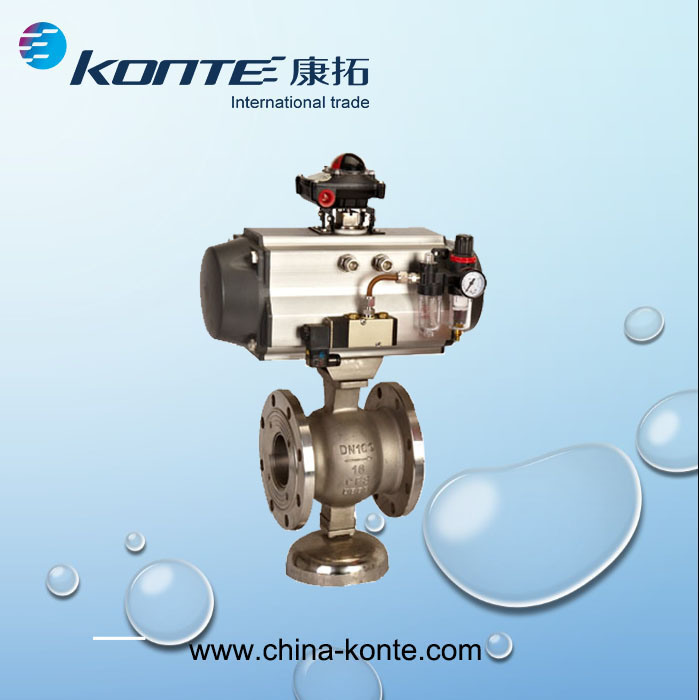 Pneumatic Actuator Series- Different Seal Material for High or Low Temperature