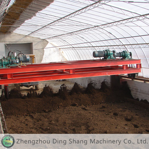 Fertilizer Equipment: Fertilizer Spiral Turner Ef-5000