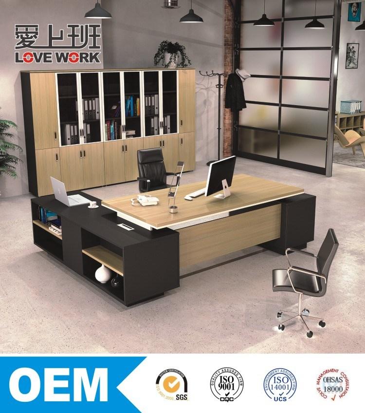 L-Shape Office Table Executive Office Desk (FE-B26)