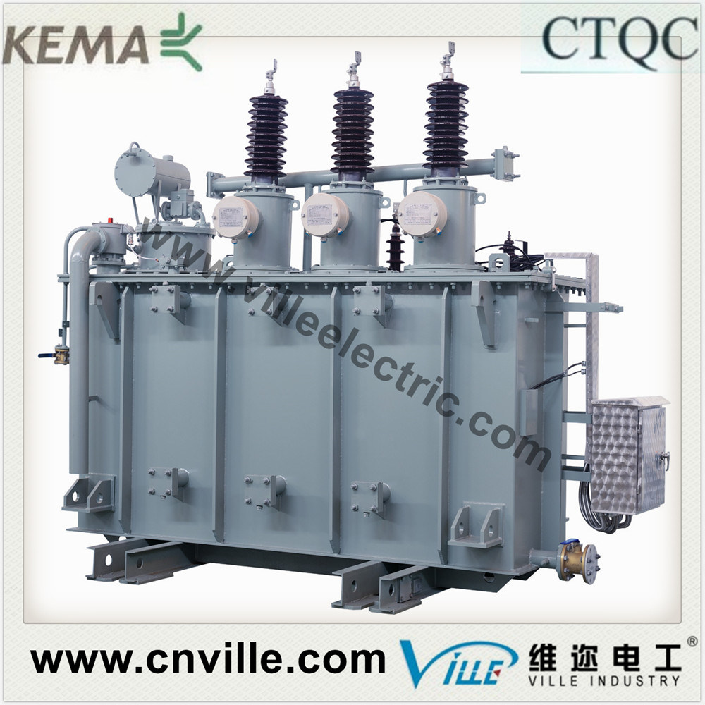 63mva 110kv Dual-Winding Load Tapping Power Transformer