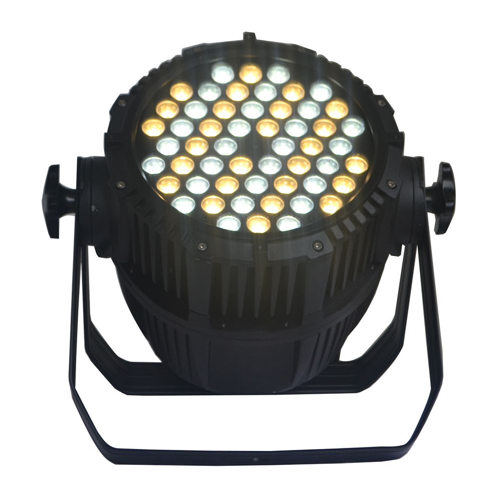 Outdoor LED PAR Light with 54X3w Cool/Warm White CREE LED for Stage, Architecture, Studio, Camera