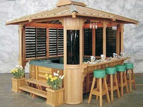 china luxury outdoor hot tub gazebo china outdoor spa gazebo wooden gazebo. Black Bedroom Furniture Sets. Home Design Ideas