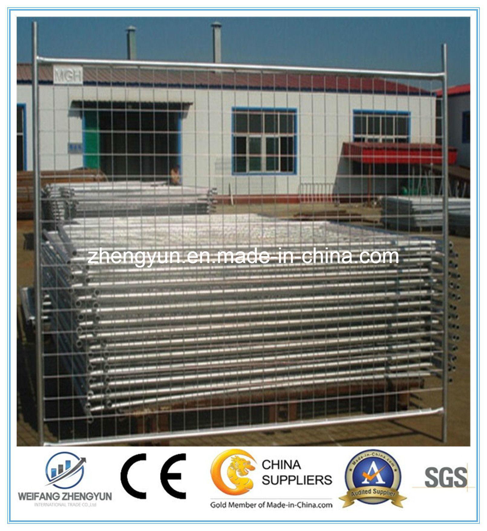 Hot Galvanized Temporary Fencing Panel