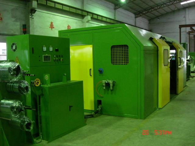 Double Twist Bunching Machine for Bobbin 1250mm