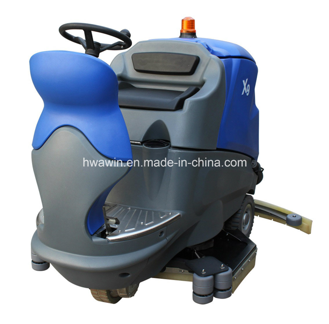 Commercial floor scrubber machine commercial powered auto for Industrial concrete floor cleaning machines