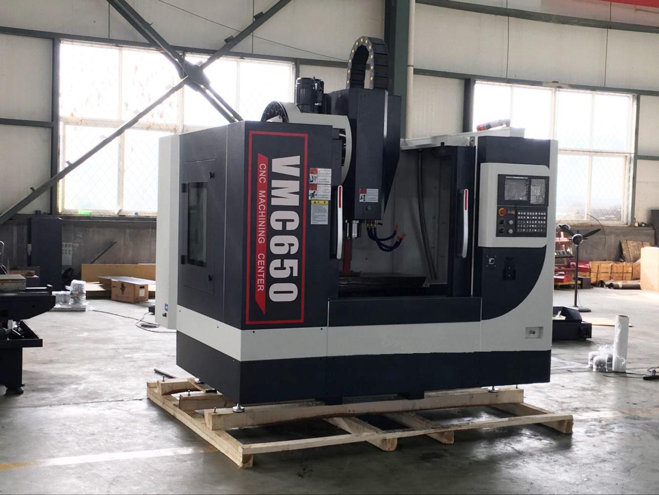 Precision 5 Axis Metal CNC Milling Machine (Machining Center VMC650)